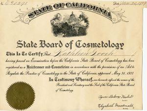 Kathleen Matheson Cosmotology licenseWP