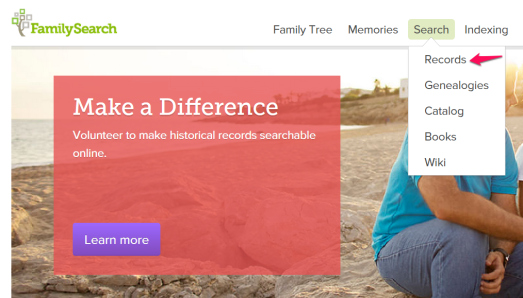 FamilySearch Military 1