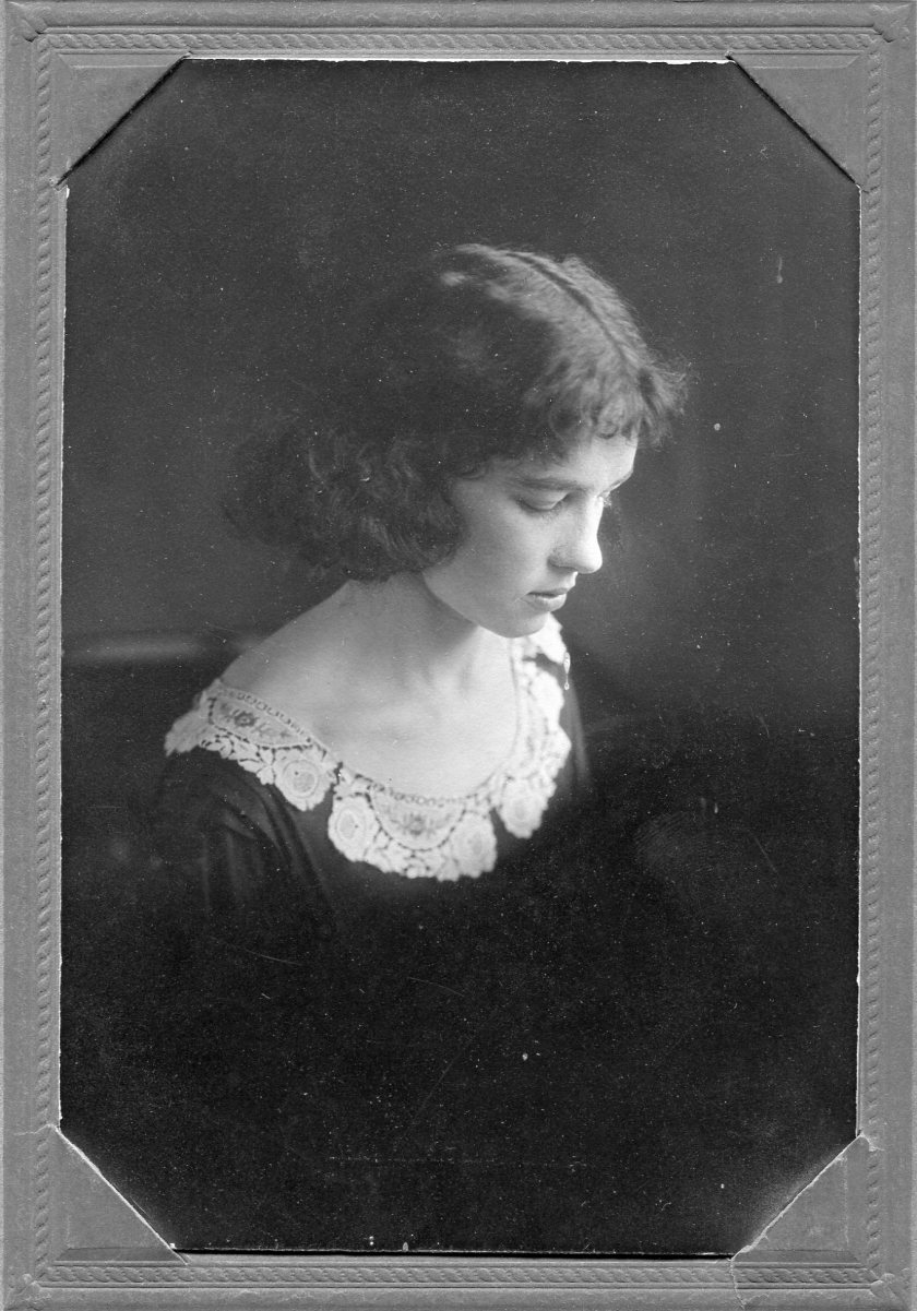 Annie Marie Tanner as a young woman