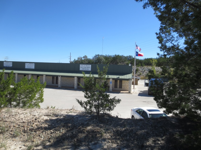 A business park exists today on the land once owned by John Gooch in Burnet, Texas.  In fact, the City Municipal Offices stand on the spot where the army hospital stood.