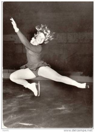 Sjoukje Dijkstra, Dutch Ice Skater, Netherlands, 1964 Olympic Gold Medal Winner