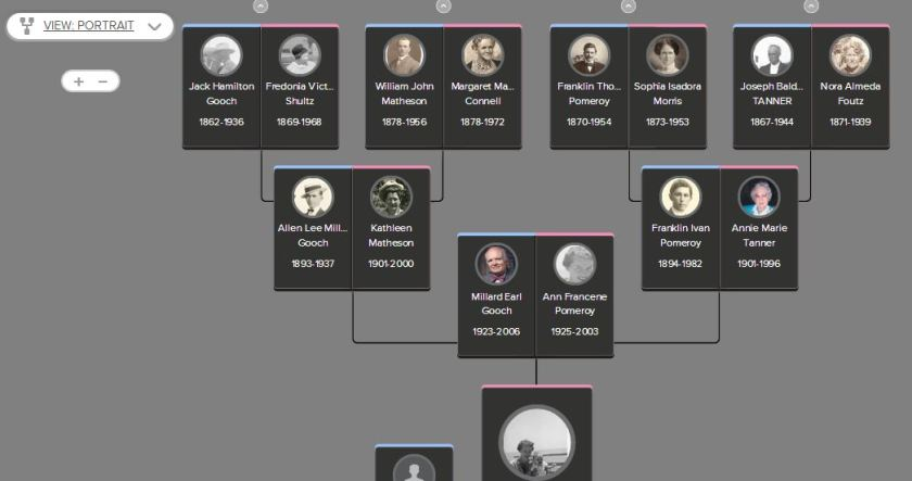 FamilySearch Portrait Tree for Dayna Jacobs