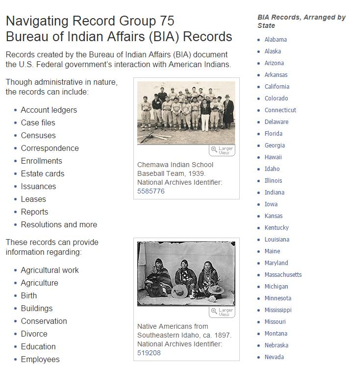 NARA Indian records 8
