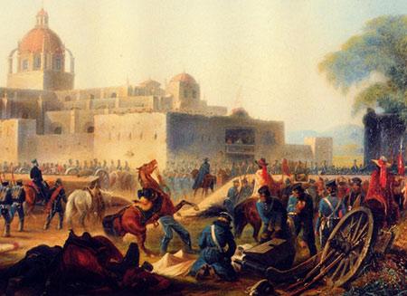 Churubusco by James Walker 1848 Mexico