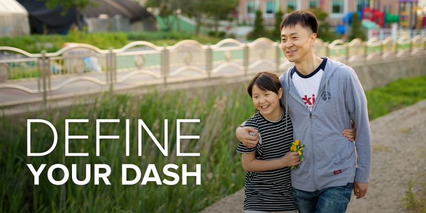 """Define Your Dash"" image from the FamilySearch blog"